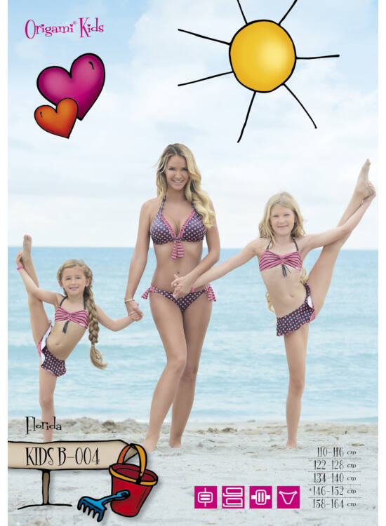 ORIGAMI-BIKINI Kids - Florida KIDS-B-004