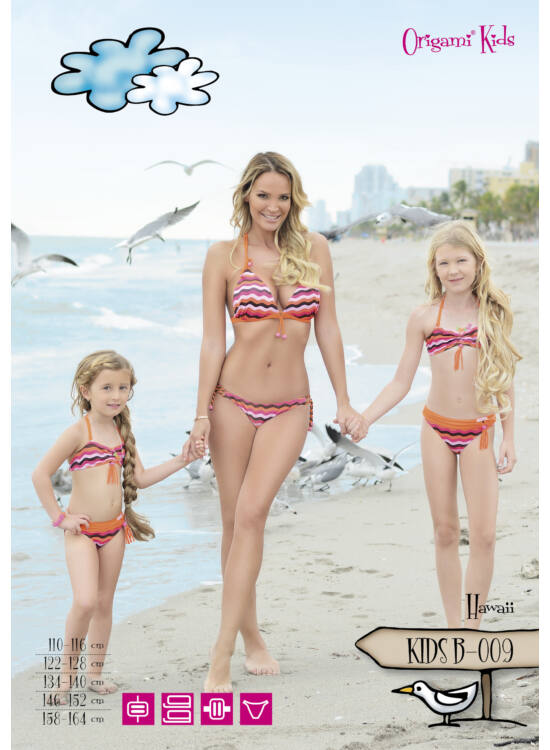 ORIGAMI-BIKINI Kids - Hawaii KIDS-B-009