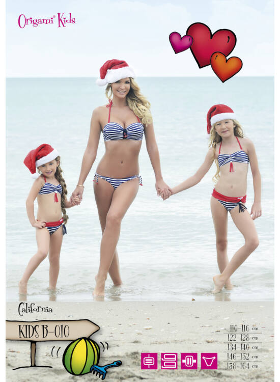 ORIGAMI-BIKINI Kids - California KIDS-B-010