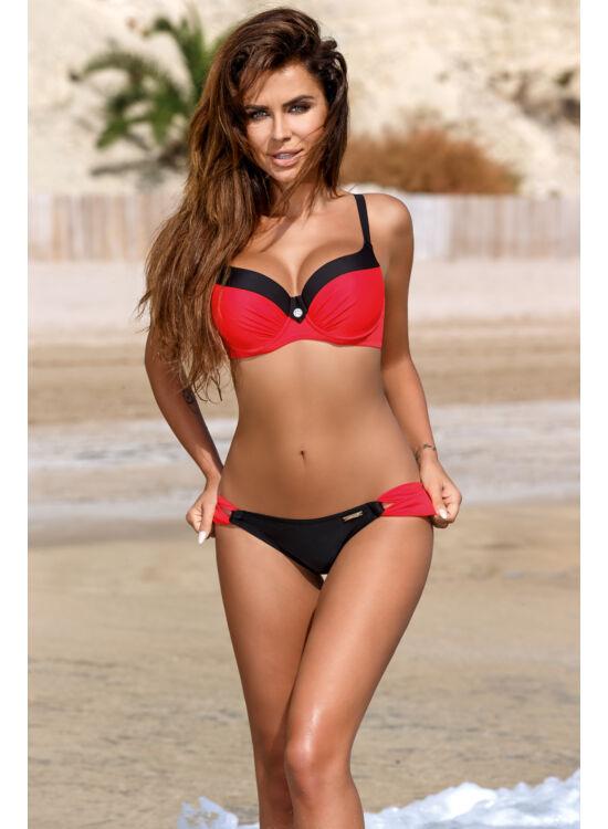 ESTHER  06. Nero-red bikini, fürdőruha