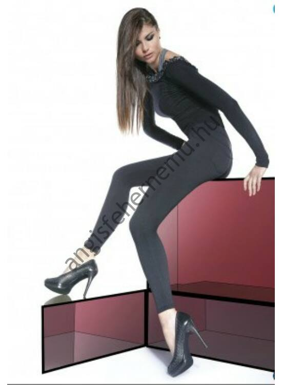 MARIKA Black 200 DEN-es, zsebes leggings
